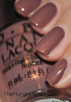 Did You 'Ear About Van Gogh? This wa… Did You 'Ear About Van Gogh? This was very opaque which surprised me. I thought it was too run… Cute Nails, Pretty Nails, Nagel Hacks, Opi Nail Colors, Fall Nail Colors, Colorful Nail Designs, Opi Nails, Shellac, Coffin Nails