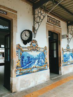 Estação de Comboio Pinhão, Portugal's Douro Valley,