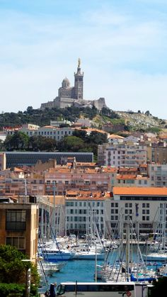 Marseille France on the beautiful Mediterranean