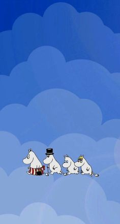 Moomin Wallpaper, Wallpaper Space, Cute Wallpaper Backgrounds, New Wallpaper, Cartoon Wallpaper, Cute Wallpapers, Iphone Wallpaper, Tove Jansson, Cartoon Drawings