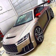 Audi TT ClubSport - If you want to grow & monetize your ins - Cars Audi Tt, Audi R8 V10, Audi Cars, Audi 2017, Bugatti, Maserati, Ferrari, Lamborghini Veneno, Ford Gt