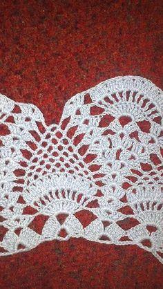 Image gallery – Page 459085755763434288 – Artofit Crochet Borders, Crochet Blanket Patterns, Crochet Motif, Crochet Doilies, Crochet Lace, Crochet Stitches, Crochet Jumper, Crochet Blouse, Filet Crochet