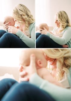Cozy Newborn Session with Baby Luke. Love the bright intimate feel of this shoot.
