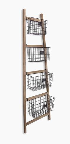 47 Ladder Shelves for Smart Storage and Stylish Display - Modern White Ladder Shelf, Bathroom Ladder Shelf, Ladder Bookshelf, Ladder Storage, Bookcase, Smart Storage, Basket Shelves, Wood Shelves, Shelving