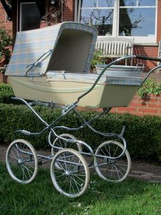 Silver Cross, englischer Kinderwagen aus den 90ern