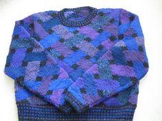 Ravelry: Lattice Crew Neck Sweater pattern by Kaffe Fassett