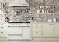 Baystone Kitchen featuring gorgeous Lacanche Range | frenchranges.com