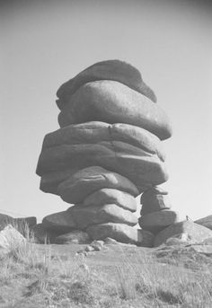 John Piper 'Photograph of the Cheesewring near Minions, Cornwall', © The Piper Estate John Piper, Cornwall, 1930s, Minions, Photograph, Archive, Stones, Website, Search
