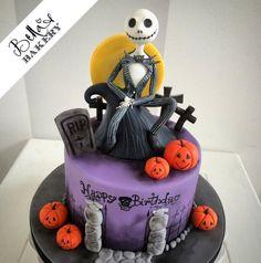 Jack Skellington - Cake by Bella's Bakery