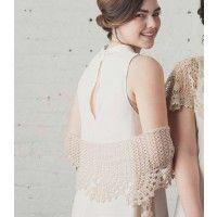 Delicate Fans Shawlette; Anastasia Popova; Interweave Crochet, Summer | InterweaveStore.com