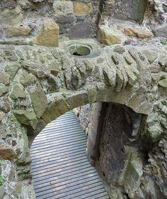 Dirleton Castle Murder Hole