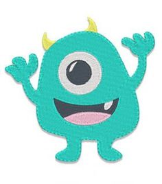 Designs :: Boys :: Stitched Monster