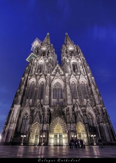 Cologne Cathedral, Cologne, Germany. This is an amazing building. Be sure to take the stairs to the bell tower.