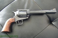 Ruger Super Blackhawk .44 Magnum / Sheriff Springs' weapon of choice...brutal power!