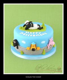 Shaun the Sheep Cake - Cake by Little Cherry