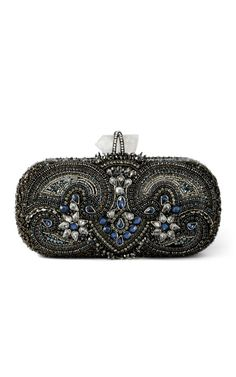 Marchesa Lily blue multi clutch! One of my favorite handbags from our Resort 2013 Collection!