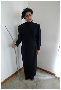 Day 214: Nanny McPhee #costume. Theme Me is a blog that follows a personal challenge to dress to a different theme every day for a whole year.