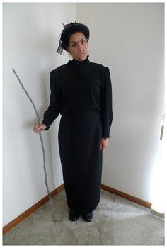 how to make a nanny mcphee costume
