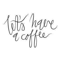 #coffee #print #lettering  Tumblr