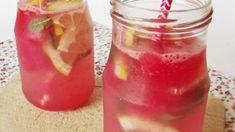 Už jste připraveni na horké letní dny? Nezapomeňte do mrazničky vložit sáčky nebo nádoby Tea Cocktails, Summer Drinks, Mojito, Hot Sauce Bottles, Smoothies, Shake, Food And Drink, Cooking Recipes, Pudding