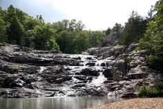 The South's Best Swimming Holes and Waterfalls: Rocky Falls, Ozark National Scenic Riverway