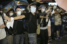 By JAMES POMFRET and ELZIO BARRETTO    HONG KONG, Oct 19 (Reuters) - Violent clashes erupted early on Sunday in a Hong Kong protest hotspot as...