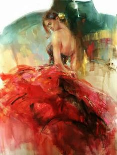 Another beautiful painting by Anna Razumovskaya. <3