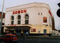 The Odeon. Its long gone! But agh Growing up i saw my first film here. Oxford Street London, Old London, East London, Essex Boys, Long Gone, Hanging Gardens, London History, Theatres, Old Skool