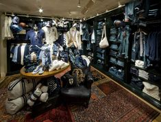 Rugby Ralph Lauren store by Michael Neumann Architecture, Nagoya store design
