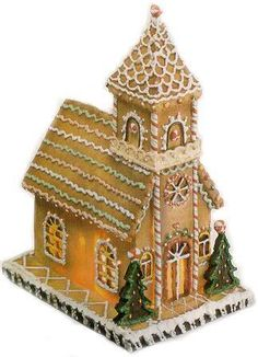 gingerbread house template Gingerbread Church, train and other templates plus recipe for the gingerbread Gingerbread House Patterns, Gingerbread House Template, Gingerbread Village, Christmas Gingerbread House, Gingerbread Man, Gingerbread Cookies, Christmas Cookies, Christmas Houses, Christmas Baking