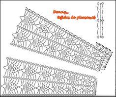 TEJIDOS A CROCHET - GANCHILLO - PATRONES: CHALINAS