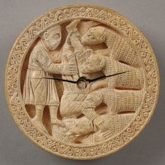 Game Piece with Hercules Throwing Diomedes to his Man–Eating Horses [German (Probably made in Cologne)] (16.106) | Heilbrunn Timeline of Art History | The Metropolitan Museum of Art