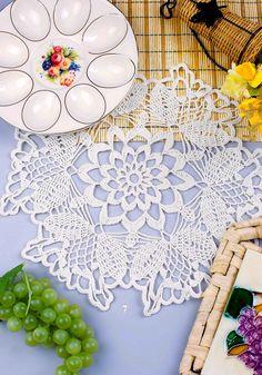 Crochet Lace Edging, Crochet Doilies, Knitting Patterns, Crochet Patterns, Beautiful Patterns, Rugs, Creative, Bingo, Crocheting