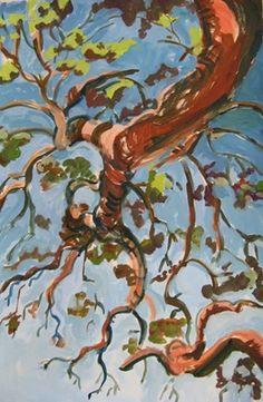Diana Tanchak, Arbutus Tree, Savary Island