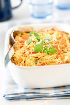Low Carb Recipes, Love Food, Koti, Macaroni And Cheese, Nom Nom, Spaghetti, Food And Drink, Veggies, Meals