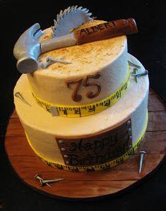 Bliss Cakes of London: Handymans Birthday!