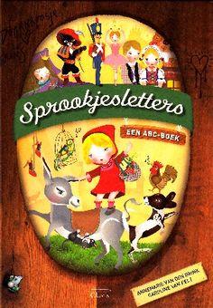 Bij elke letter van het alfabet een sprookje, van de A van de appel van Sneeuwwitje tot de Z van de kleine zeemeermin...