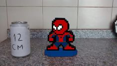 Homem Aranha 8 Bits Pixel Art no Elo7 | Eduardo Pixel Art Geek (EC7154) Pixel Art, 8 Bits, Geek Stuff, Personalized Gifts, Spider Man, Made By Hands, Men, Pictures, Geek Things