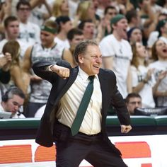 Love the emotion from Coach Izzo