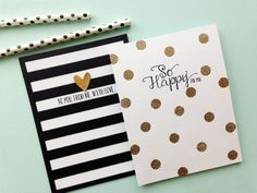 Dots and Stripes card set by Dani at @Studio_Calico
