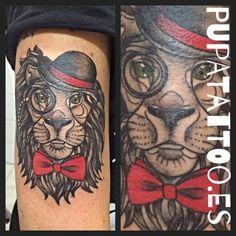 https://flic.kr/p/HyFT7U | Tatuaje León Pupa Tattoo Granada | Pupa Tattoo Art Gallery     C/Molinos, 15     18009 Granada     Spain     Telf.: 958 22 12 80     instagram.com/pupa_tattoo     twitter.com/PupaTattoo     www.pupatattoo.es