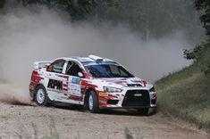auto24 Rally Estonia results:-  2. LUKYANUK & ARNAUTOV - MITSUBISHI LANCER EVO X