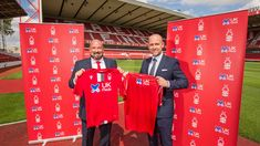 """An online pharmacy which agreed to sponsor Nottingham Forest in a deal described as """"one of the biggest"""" in the club's history will put new facial recognition technology in place to prevent drug misuse. Co Insurance, Insurance Companies, Nottingham Forest Fc, Uk D, Strong Family, Facial Recognition, Online Pharmacy, Team Shirts, Medical Prescription"""