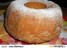 Banánová vláčná bábovka recept - TopRecepty.cz