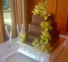 Lake Tahoe Weddings, Wedding cakes, Tahoe Cakes by Grace