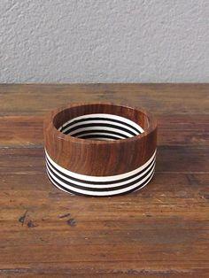 1/w stripe bracelet from red >> paint bowl