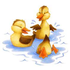Ducklings by Aaron Zenz