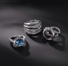 David Yurman love the black and blue