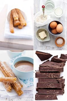 Churros with Spiced Chocolate Bisque to Satisfy a Late Pregnancy Craving :: Cannelle et VanilleCannelle et Vanille