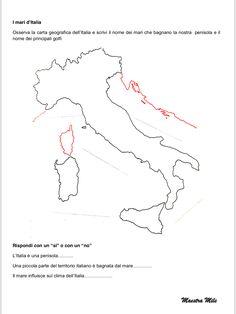 """IL MARE"" GEOGRAFIA CLASSE TERZA Astro, Chart, 3, Blog, Anna, Italy, Halloween, Halloween Stuff, Italia"